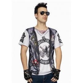 T-shirt biker homme