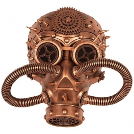 Masque Steampunk gold