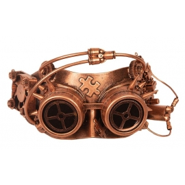 Masque Steampunk bronze