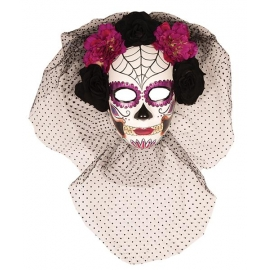 Masque Day of the dead femme