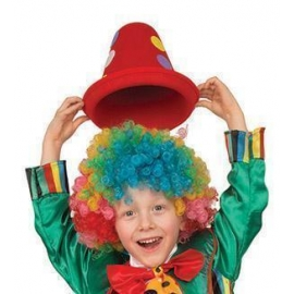 Clown - Chapeau feutrine - couleur ass