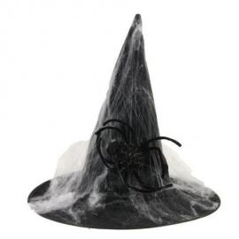 Chapeau sorcière toile d'araignée