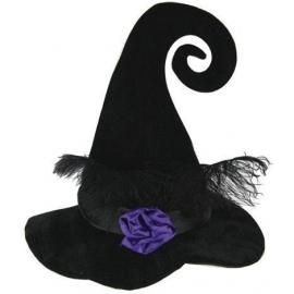 Chapeau sorcière têtes de mort