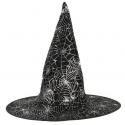 Chapeau sorcière toiles d'araignées