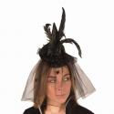 Mini chapeau sorcière + voile