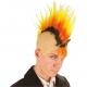 Crâne punk multicolore
