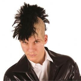 Crâne punk noir