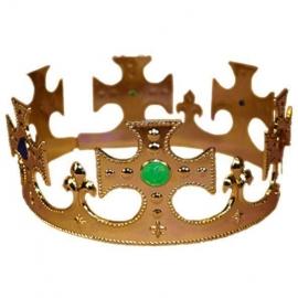 Couronne de reine or