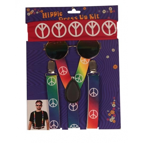 Guitare gonflable hippie 105cm