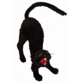 Décoration chat noir 34cm
