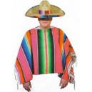 Location costume Poncho mexicain