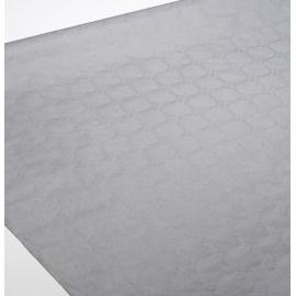 Rouleau de nappe damassé vanille 1.18x25m