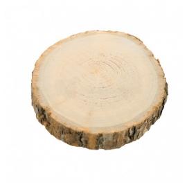 8 ronds de serviette bois