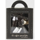 Kit cotillons 10 pers - Boîte luxe Argent