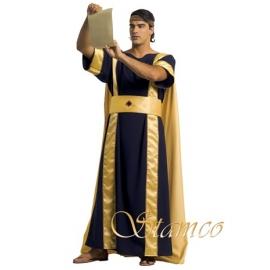 Location costume Egyptien noir/or avec cape