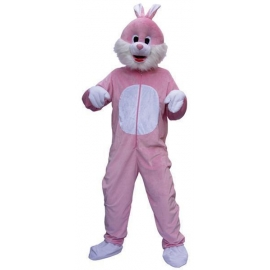 Location costume Peluche Lapin marron