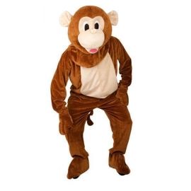 Location costume Peluche singe