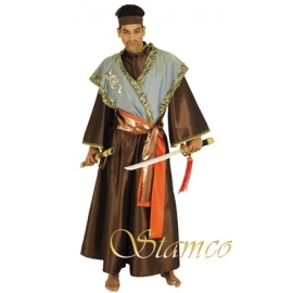 Location costume Samourai vert