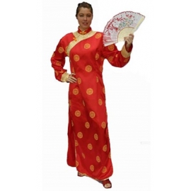 Location costume Geisha rose