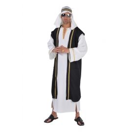 Location costume Cheikh arabe blanc