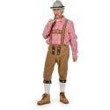 Location costume Tyrolien long