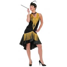 Location costume Charleston luxe noir/or
