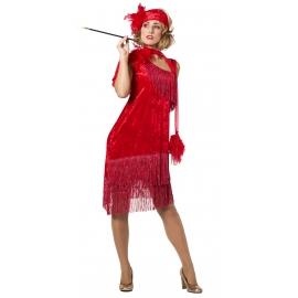 Location costume Charleston rouge