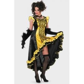 Location costume Cancan jaune