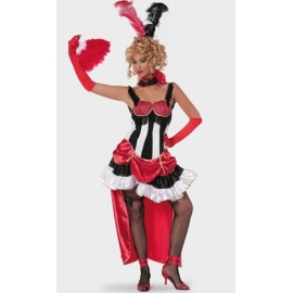 Location costume Cancan rouge