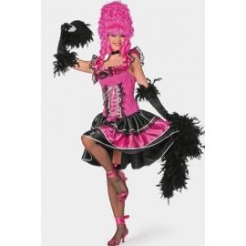 Location costume Cancan rose