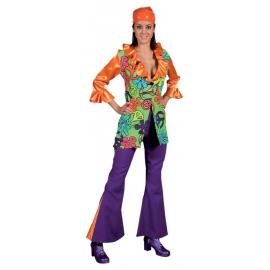 Location robe disco magic peace