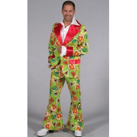 Location costume disco peace man