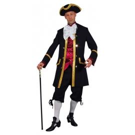 Location costume Marquis Bordeaux/Noir