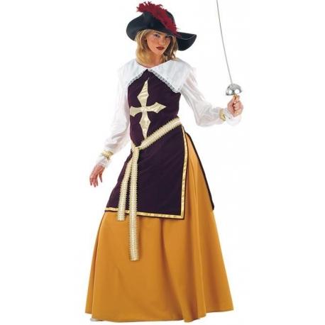 Location costume Mousquetaire femme