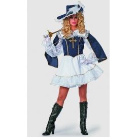 Location costume Mousquetaire courte femme