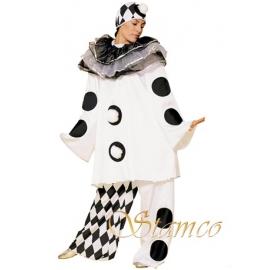 Pierrot femme noir/blanc