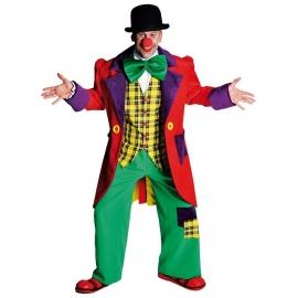Clown veste rouge
