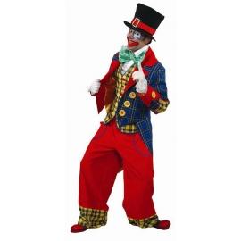 Clown veste bicolore