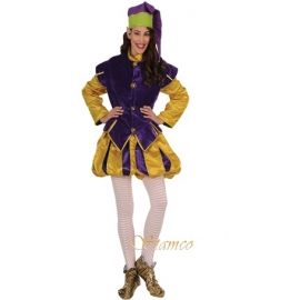 Bouffon violet femme