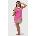 Location costume Indienne rose