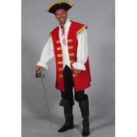 Location costume Pirate marron