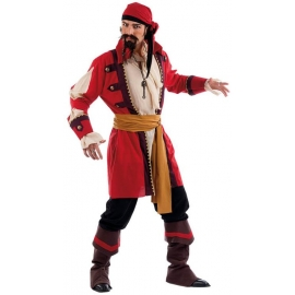 Location costume Pirate rouge
