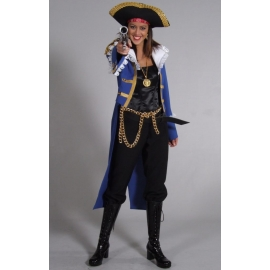 Location costume Corsaire bleu