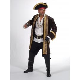 Location costume Pirate luxe bleu