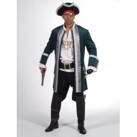 Location costume Pirate luxe marron