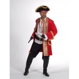 Location costume Pirate luxe orange