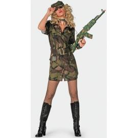 Location costume Soldat femme