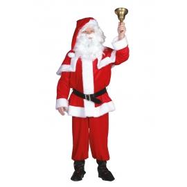 Père Noël velours rouge LUXE