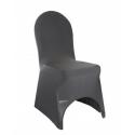 Location housse de chaise en lycra noir