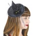 Barette chapeau de sorcière